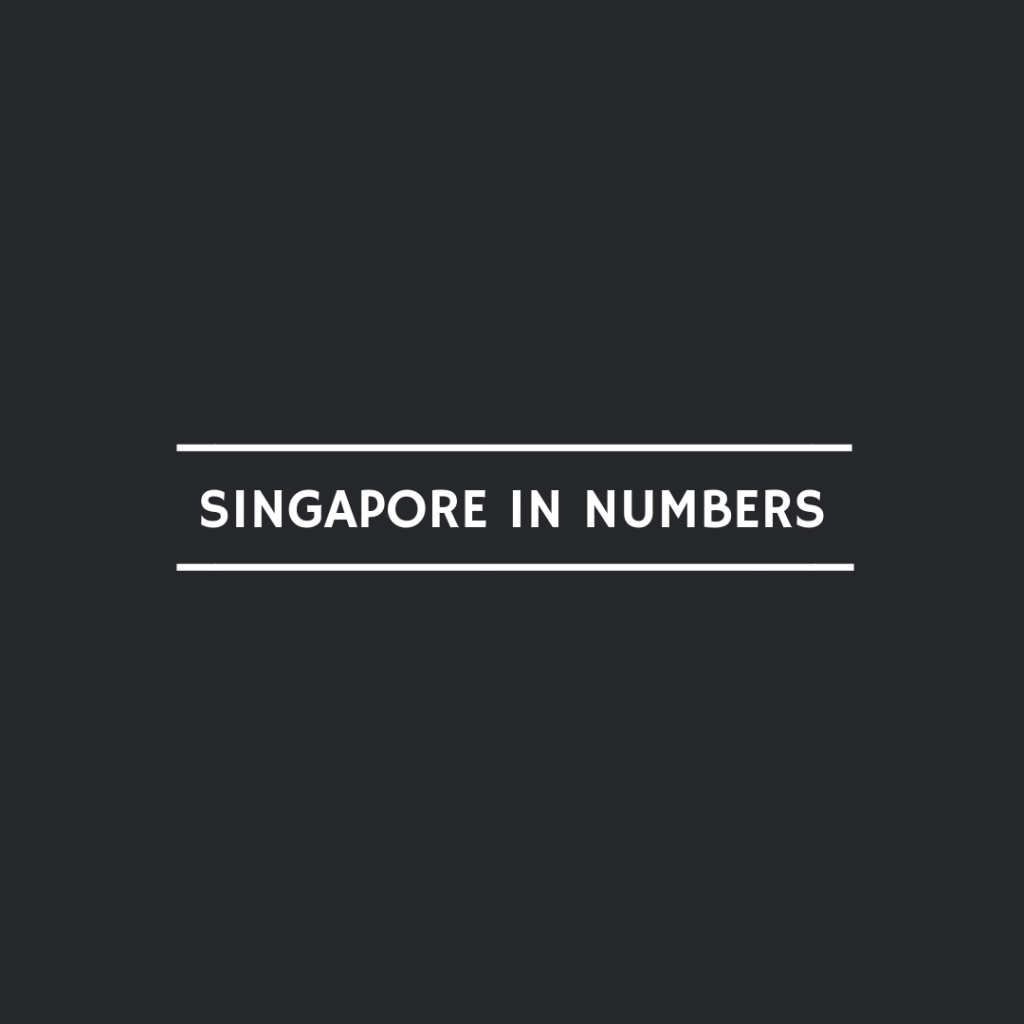 1 singapore in numbers